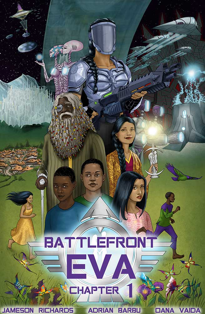 graphic novel illustration