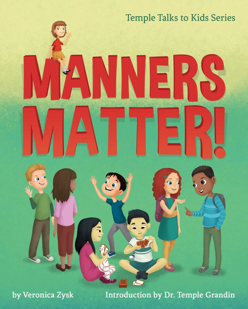 Children book about manners