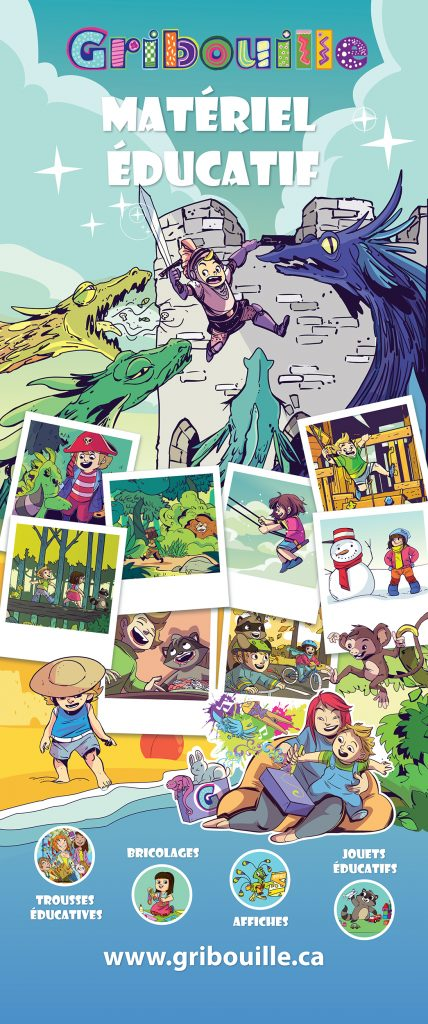 Gribouille childrens book illustrations artist
