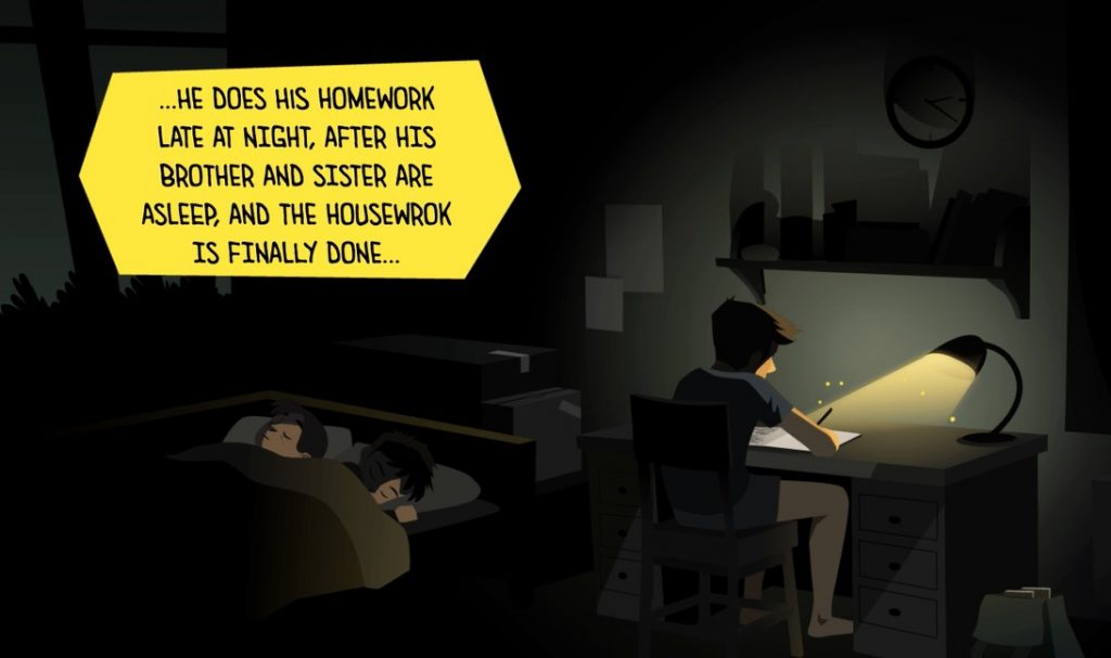 Potr Motion Animation
