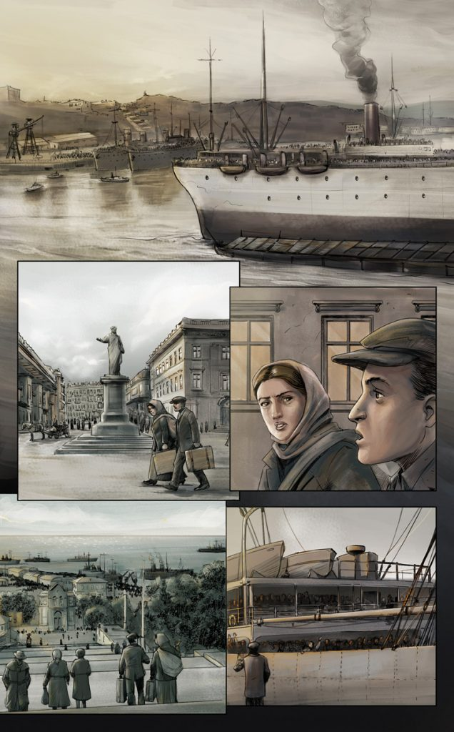 Graphic Novel Holocaust Aaron Story
