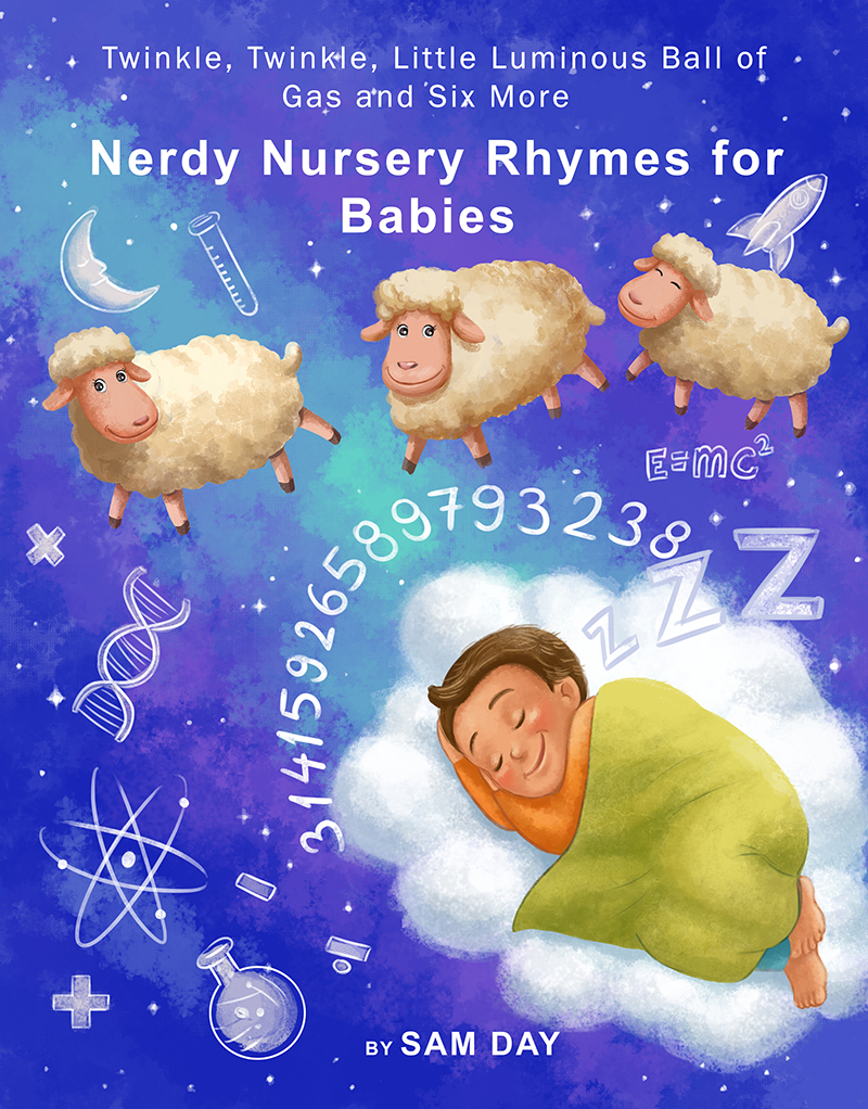 Nerdy Nursery Rhymes for babies - children's picture book